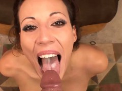 FINISH IN HER MOUTH CUM IN MOUTH COMPILATION PART 4