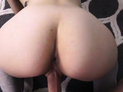 My stepsis really likes to secretly ride on my cock