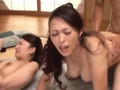 Mature fatty gets bushy pussy drilled hard in lots of poses
