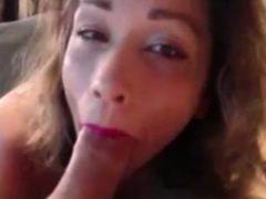 Sexy wife likes to swallow it deep