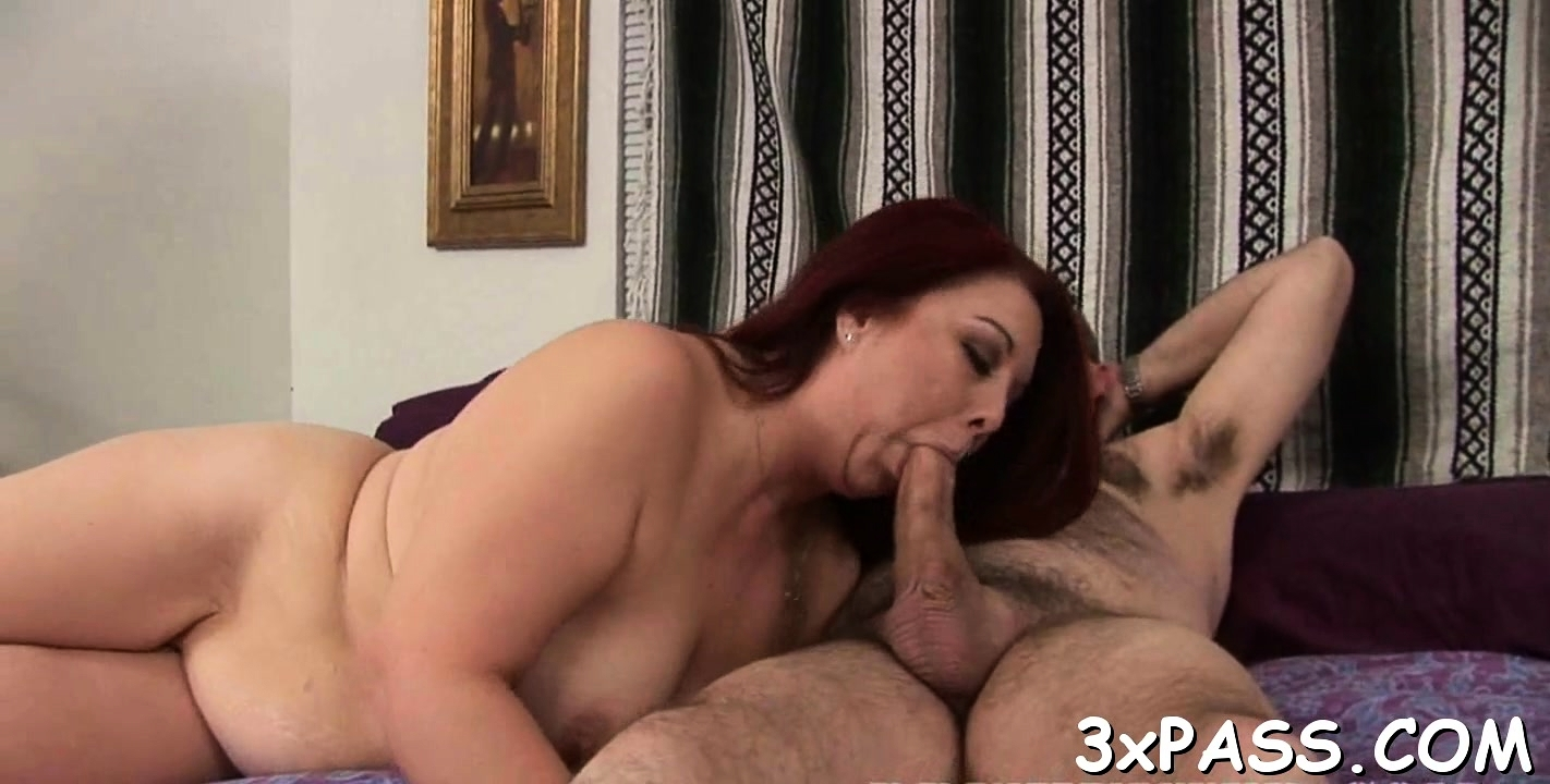 Slutty Fat Woman Shows Large Body And Fucks Well With Chap