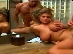 Gorgeous huge tits milf
