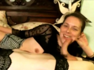 Small tits Tgirl liked sex with guy