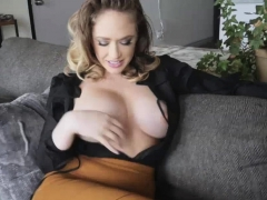 Sexy MILF loves sucking huge cock