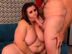 Sexy BBW shows her big boobs fat ass and meaty pussy She