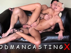 Sultry Babe Gets Her Butt Drilled At A Casting