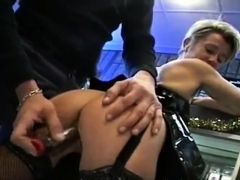 French Swinger's Party In Sex Shop