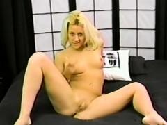 Horny Vanessa Teases The Camera Man's Cock - Horny Vanessa