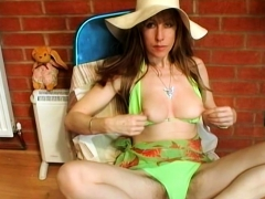 Lizzy Anne Talks Dirty While She Uses A Huge Dildo - Lizzy