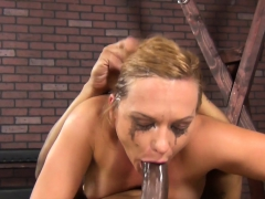 Katja Kassin gets face fucked