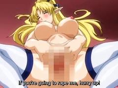 Busty Elf Anime Hentai