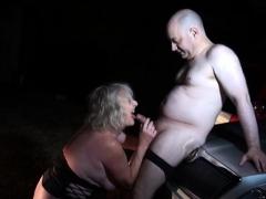 Hot Mature Outdoor And Cumshot
