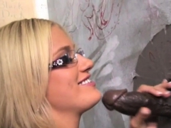 Adrian Olsen Takes Black Monster Cock - Gloryhole