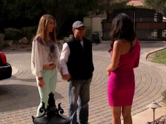 Young Swingers Blowjob On Reality Series