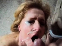 Wife Fucks And Takes Big Facial