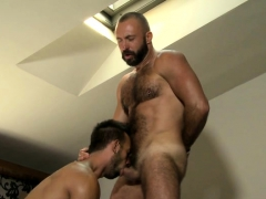 Latin Bear Casting Couch With Cumshot
