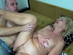 Sexy Granny Loves Getting Fucked By Dildos