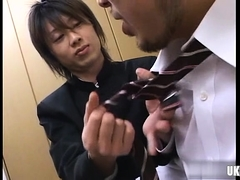 Japan Daddy Rimjob With Cumshot