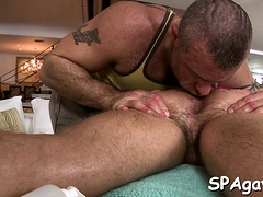 Hunk Is Stuffing Gay Guy With Dildo Before A Bit Of Butt