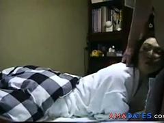 Japanese mature blowjob