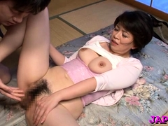 Older Lady Gets Her Pleasant Pussy Licked And Team-fucked