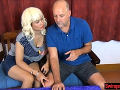 Thai Amateur Wife Cuckolds Her Husband With Permission