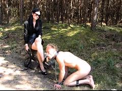 Cfnm party femdom spanking