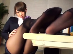 Dirty Nylon Asian Foot Sniffing