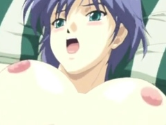 Hot titted hentai 3d hentai cutie in hot sex scene