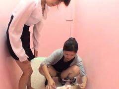 Japanese hos urinating in public