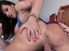 Big tits and big ass milf Lisa Ann pussy drilled real hard