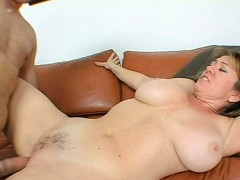 Dirty MILF fucked in all her wet sex holes